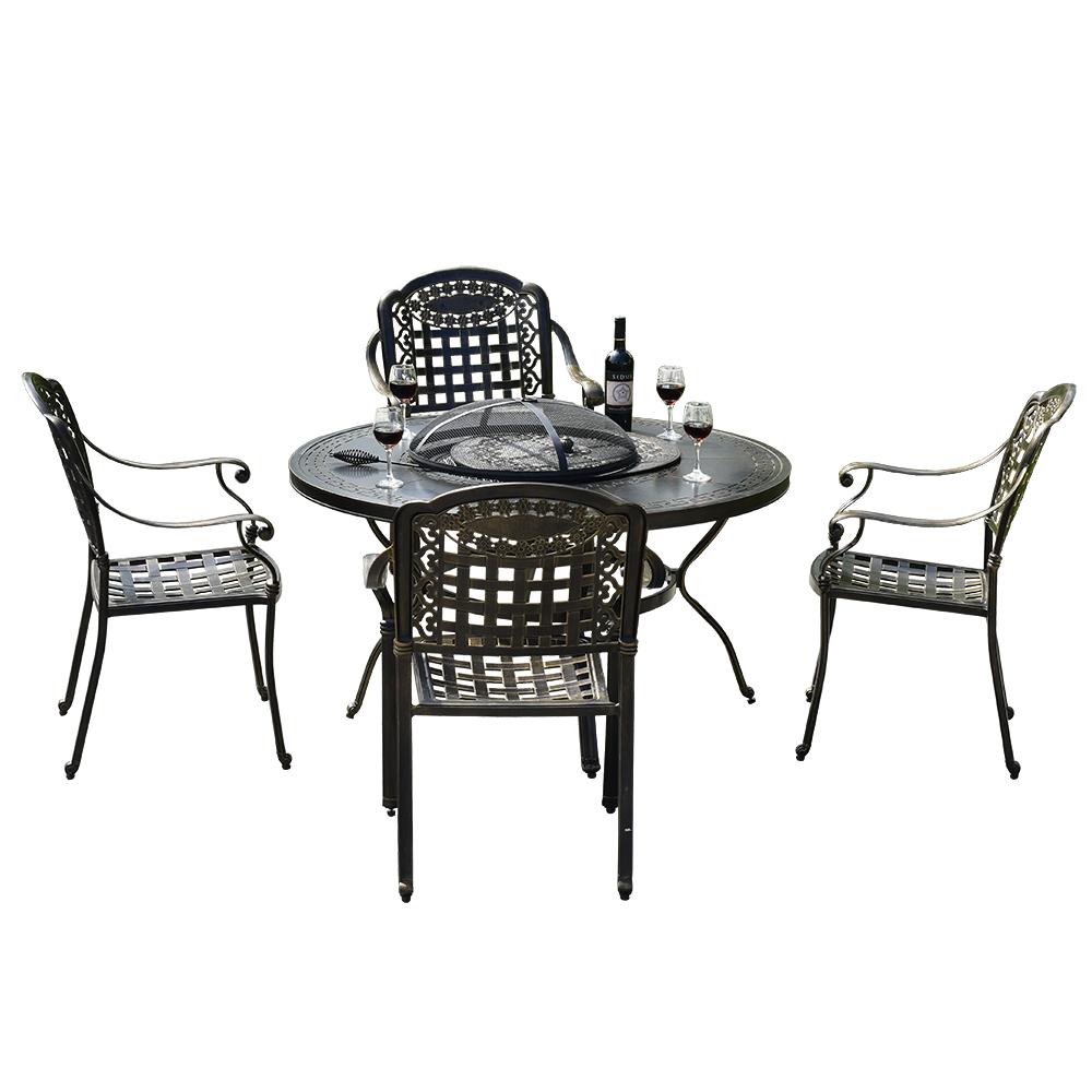 vendo mesas sillas terraza vintage