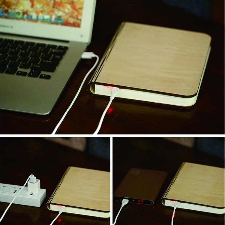 Mini opvouwbare led boek lamp promotionele nieuwigheid premium geschenken artikelen