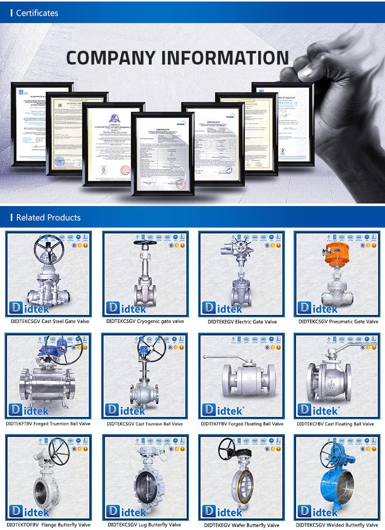 Didtek 3inch Pressure Seal Stainless Steel CF3M Globe Valve
