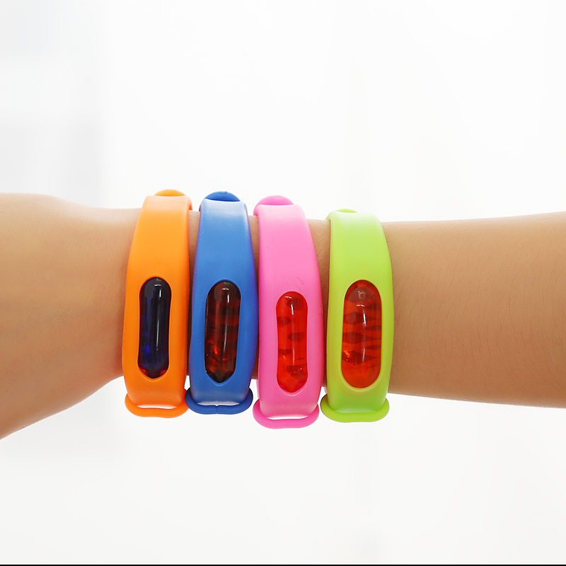 Summer product Anti Mosquito Bracelet natural ultrasonic Silicone Mosquito Repellent Bracelet for Children