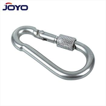 Carabiner to Ring Screw 10 mm galvanised steel