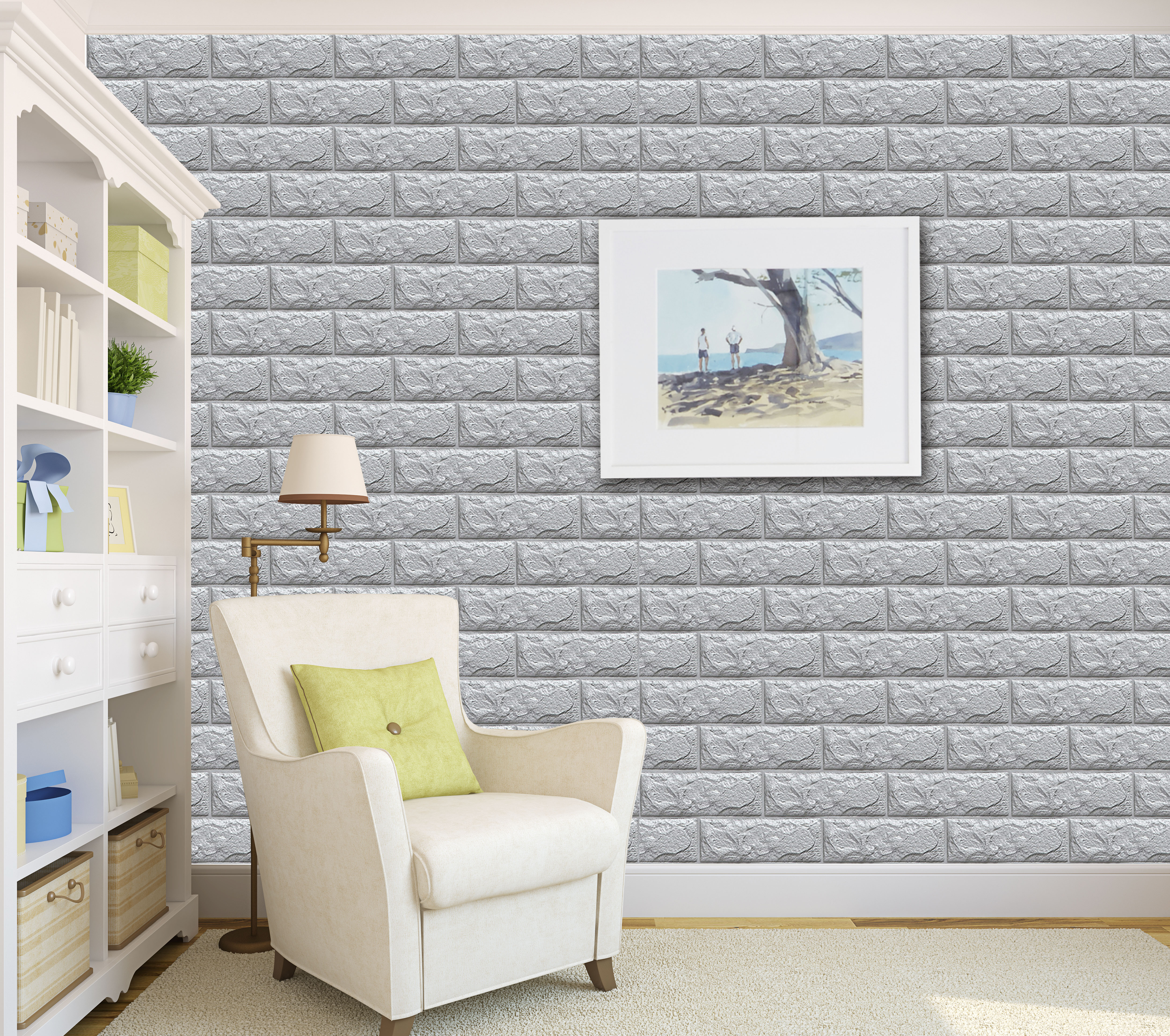 Wholesale Wallpaper Waterproof 3d brick ...