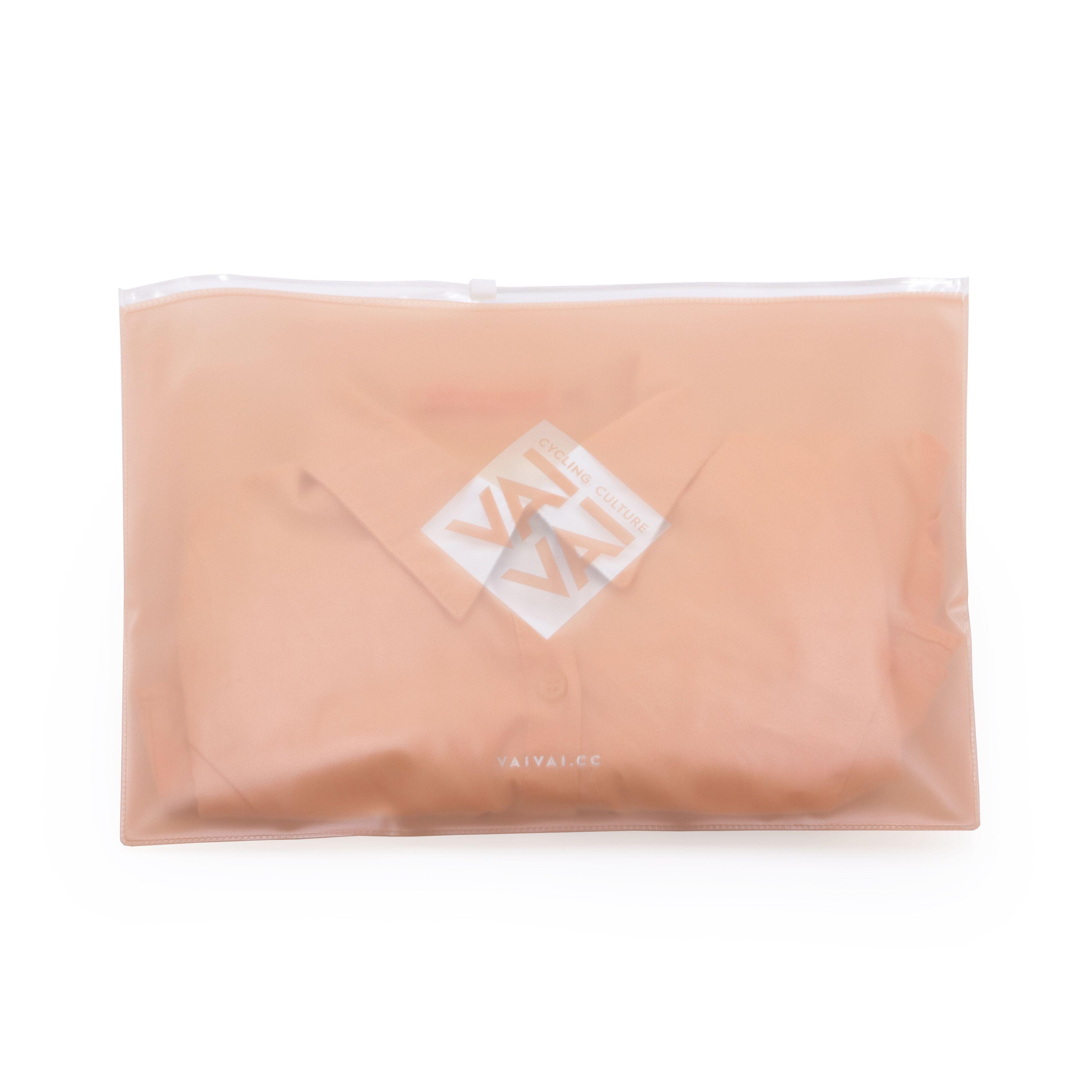전체 인쇄 핑크 컬러 사용자 정의 로고 PVC 의류/셔츠/전화 포장