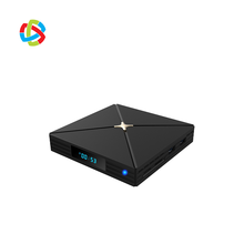 Amlogic S905X3 Quad Core Android 9.0 TV Box 4GB RAM 32GB ROM 2.4G และ 5G Dual WIFI 4K Full HD