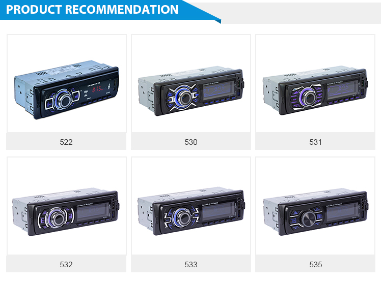Multifunction Car BT MP3 Player Car MP3 Player with Remote Control