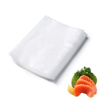 28cmX35cm Custom textured and embossed food saver vacuum sealer bags transparent vacuum bag for vegetables and fruits and meats