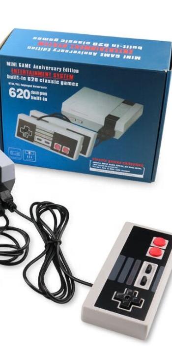 2020 migliore Qualità Mini Console di Gioco TV 8Bit Retro Video Console di Gioco Built-In 620 Giochi Classici di Gioco Portatile giocatore Migliore Regalo
