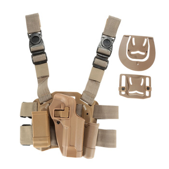 Tactical Pistol Thigh Leg Holster Military Gun Holster for 92 GLOCK 1911