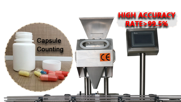 China Factory Bottling Electronic Manual Pill Counter for soft gel capsule