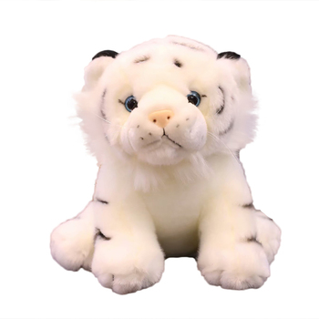 High Quality Custom Promotion Small Heatable Millet Cute Cuddly Baby Stuffed Wholesale Factory Direct Plush Animal Tiger Toy