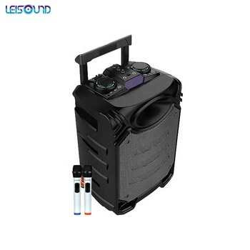 "12"" PORTABLE RECHARGEABLE TROLLEY AMPLIFIER SPEAKER"