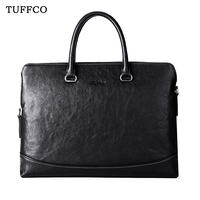 2019 Newest Anti-theft Fingerprint Lock Leather Briefcase For Men