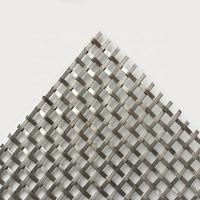 High Quality Decorative woven Metal Mesh metal fabric for Cabinetry
