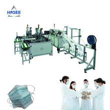Masque médical jetable machine/chirurgical <span class=keywords><strong>ligne</strong></span> <span class=keywords><strong>de</strong></span> <span class=keywords><strong>production</strong></span>/masque non tissé faisant la machine