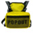 Custom logo waterproof polyester fabric fashion travel outdoor sport cross chest rig bag for men