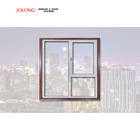 Aluminum framed casement Tilt and turn window AS2047 customized size optional
