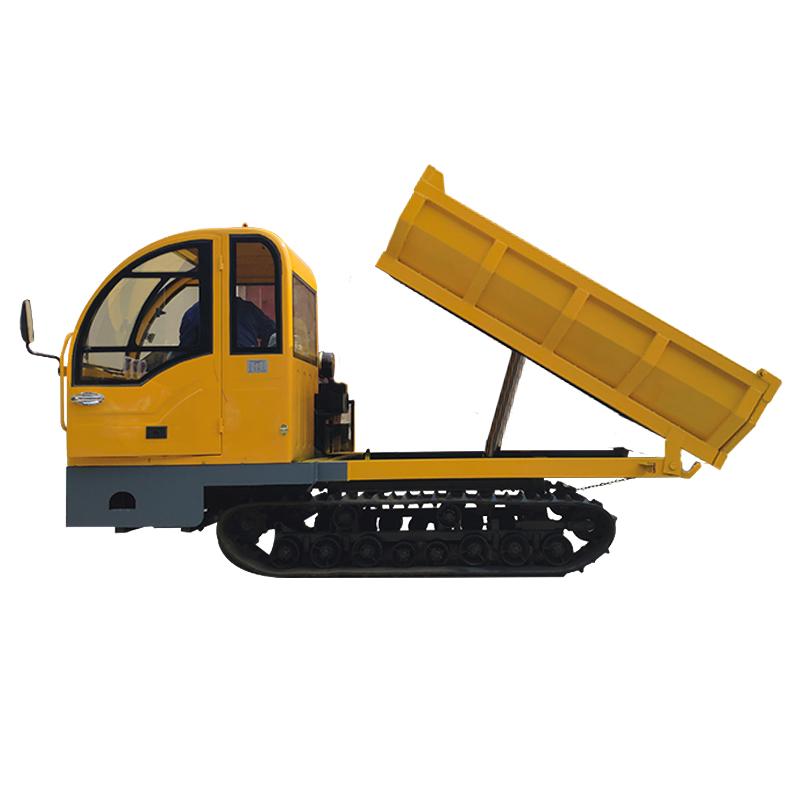 New mini dump trucks 4 ton crawler dumper for sale