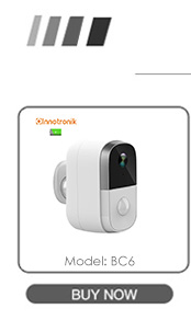 Innotronik Onvif Tuya Smartlife APP IR Night Vision Auto Tracking Pan Tilt Remote Viewing WiFi IP CCTV Camera