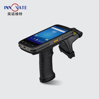 1D/2D Barcode Optional Android Handheld rfid reader wireless contactless smart uhf reader
