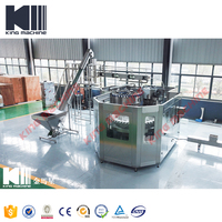 Plastic Bottle Soft Drink Carbonated Water Beverage Filling Production Machine