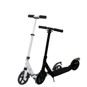 200mm foot pedal 2 big wheel adult kick scooter 125