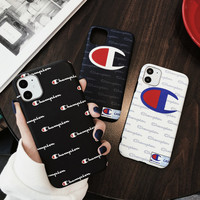 TPU Fashion amazon 2020 new Champion phone case for iPhone 11Pro max Shockproof Soft Silicone Case for iphone X 7 8plus Champion