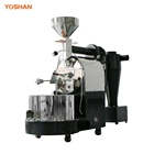 Packaging Customization Stainless Steel 5Kg/6Kg/10kg/12kg Gas Coffee Roasting Equipment Roaster Machine Bean Product Processing Machinery