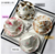 gift box Phnom Penh flower bone china European afternoon Style Ceramic tea Coffee Cup Saucer Set with gold rim