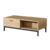 new design wooden tv cabinet with showcase