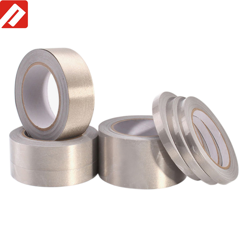 Heat Resistant Fiber Cloth Low Conductive RF EMI Fabric Shielding Tape