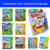 Children's English And Malaysian Language Learning Fun Musical Book ebook Toy For Kids Educational