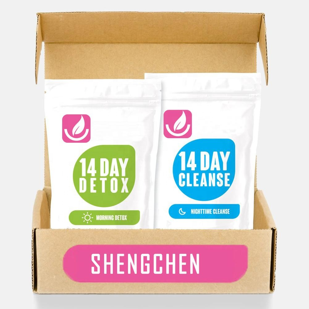 OEM Service 14 Day Skinny Detox Tea Mint Flavor Natural Herbs Weight Loss Slimming Teatox Tea - 4uTea | 4uTea.com