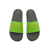 new design slipper in pu massage insole logo custom sandal slide