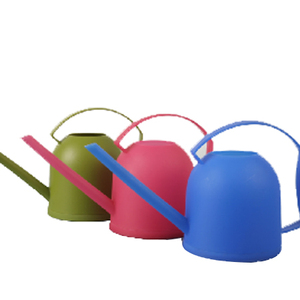 Colorful plastic watering cans,small watering can,cute garden watering can
