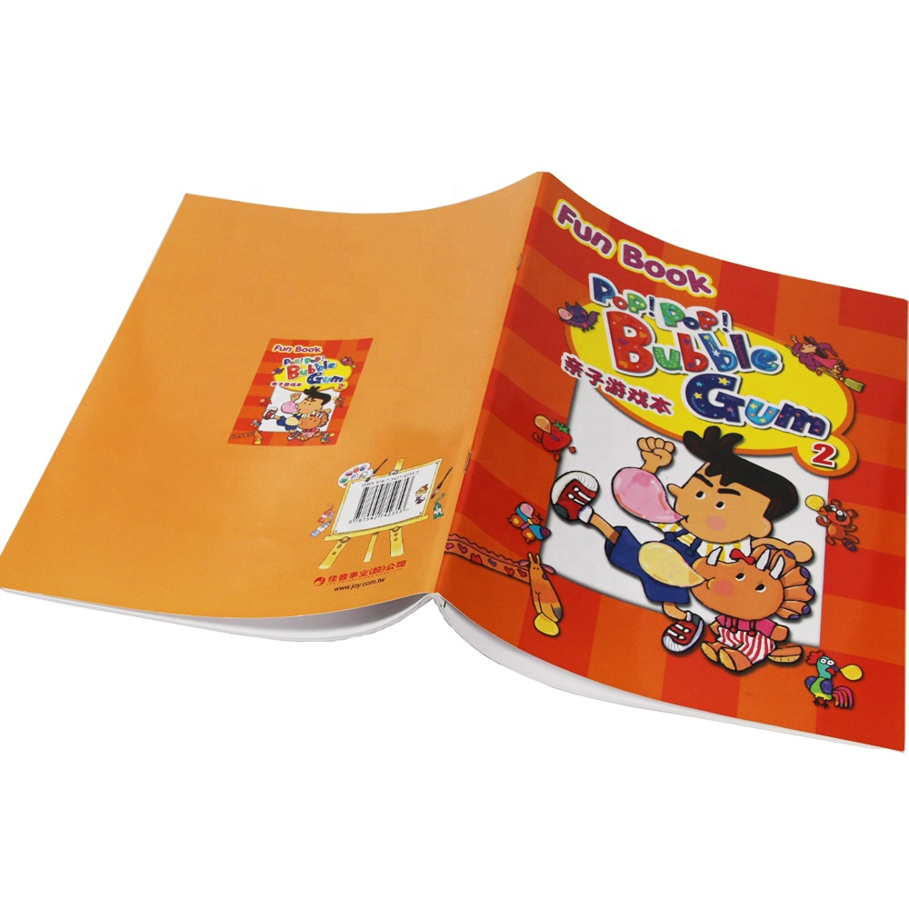 A4 Size Children Baby color Printing Book