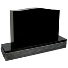 Cheapest stone black granite tombstone upright headstone for wholesale