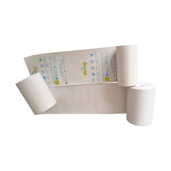 New Design BPA free high quality printable thermal Tag Pricing Tag stock lot blank sticker paper roll