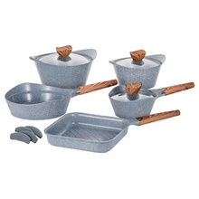 Cooklover 12 Pcs Die-Casting <span class=keywords><strong>Peralatan</strong></span> <span class=keywords><strong>Masak</strong></span> <span class=keywords><strong>Set</strong></span> <span class=keywords><strong>Aluminium</strong></span> <span class=keywords><strong>Set</strong></span> <span class=keywords><strong>Peralatan</strong></span> Memasak Antilengket <span class=keywords><strong>Set</strong></span> untuk Dapur