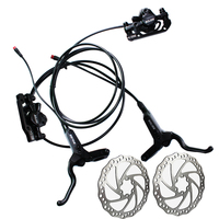 Electric bike alloy oil hydraulic bicycle disc brake Power off function