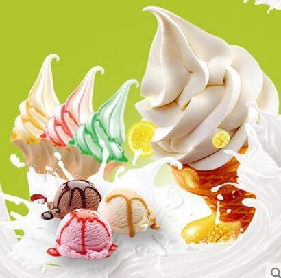 Rainbow fornecer doce sorvete em pó/sabor Baunilha/Tiramisu/pêssego/Rosa/Taro