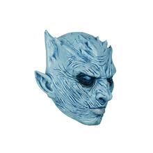 Molezu Game Of Thrones Wit Wandelaar Volwassen Horror <span class=keywords><strong>Thema</strong></span> Party Halloween Kostuum Nacht Koning Hoge Kwaliteit Latex Masker