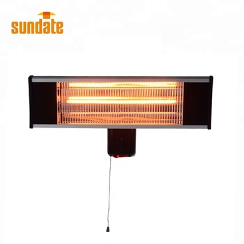 2019 CIXI Best price Carton fiber glass tube infrared heating heater FOR WALL