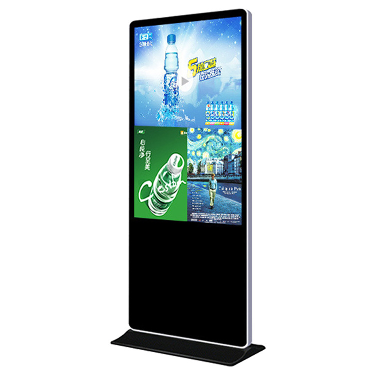 Pavimento in piedi wifi 1080p android tavolo lcd chiosco stand-alone segnaletica digitale touch screen display advertising media player