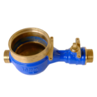 China new innovative product DN15 20 25 wireless water meter brass body