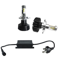 Hi/Lo beam H4 auto motorcycle car led headlight bulbs conversion kit Car Lighting System