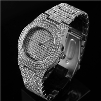 Longshine Jewelry Wholesale Cheap Price Hot selling Iced out Diamond Watch Bling Watch