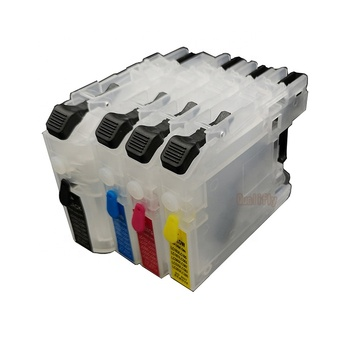compatible brother lc223 refilablel ink cartridge  printer cartridge for brother j5625 j5720 j562 j4