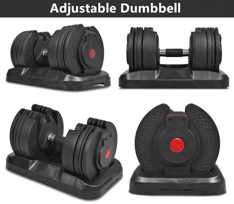 40KGS Adjustable Dumbbell Berat Set dengan Harga Yang Kompetitif