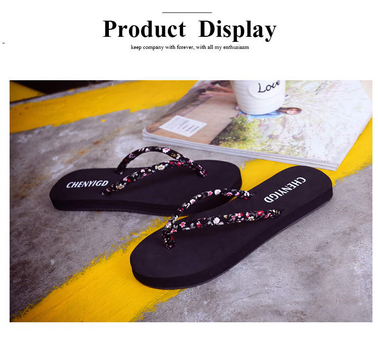 Ready To Ship Cheap Flip Flops 2019 Fashion EVA Slippers For Women