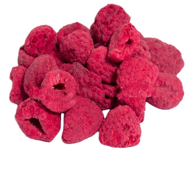 Melhor venda quente produtos chineses frutas secas liofilizadas framboesa